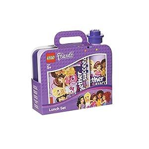 LEGO-Ninjago Set per il Pranzo al Sacco Portavivande e Bottiglia, Blu, 40591734 LEGO