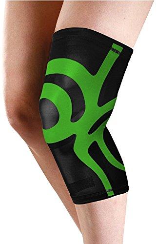 Orione deporte rodilla apoyo con construido en banda de potencia con forma de flejado elastoméricas a la muscle-skeletal de la rodilla como si se ató con biomecánica y cinta para kinesiología por profesionales