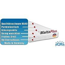 Kindermatratze MALTA PLUS. Hochwertige Matratze für Kinderbett 90 x 190 cm. Atmungsaktive Schaumstoffmatratze mit Frotteebezug 90x190 cm