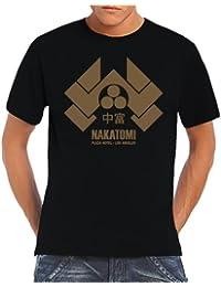 Nakatomi Tower T-Shirt Black/Gold, XXL