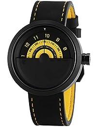 Shark SH423 Reloj Cuarzo Bonnethead Shark Creativo Hombre Dial Amarillo