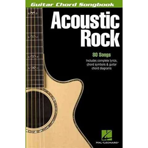 [(Acoustic Rock Guitar Chord Songbook 6 x 9 Bk )] [Author: Hal Leonard Corporation] [Dec-2013]