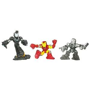 Iron Man 2 - Superhero Squad - Three-Packs - Series 02 - Hi-Tech Showdown