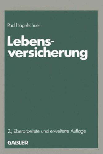 Lebensversicherung (German Edition) (Die Versicherung)