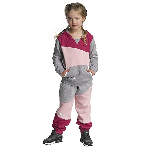 Dangerous DNGRS Kinder Sport-Anzug Kids Sweat in pink - College Sweat Anzüge