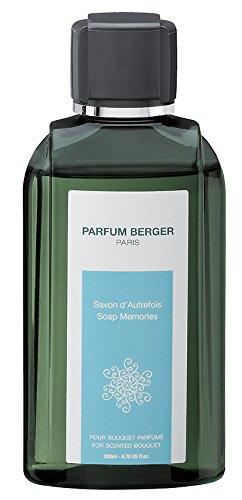 Parfum Berger 6038 Recharge pour Bouquet Parfum Savon d'Autrefois Transparent 200 ml