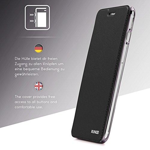 Provided Für Iphone 5 5s Handy Hülle Schutzhülle Flip Case Cover Tasche 1a Schale Schwarz Fashionable Patterns Cell Phones & Accessories Other Cell Phones & Accs