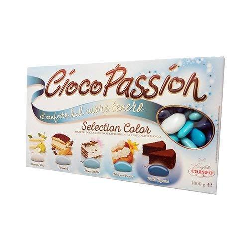 Crispo confetti ciocopassion selection color gusti assortiti celesti 1 kg