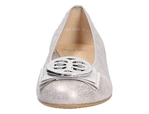 Ara 12-33755-21, Ballerine donna Grau