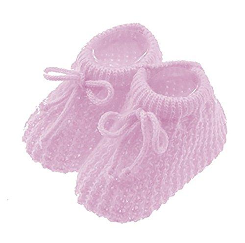 Glamour Girlz , Baby Mädchen Krabbelschuhe & Puschen Rosa Babyrosa Neugeborene (Glamour Sale)