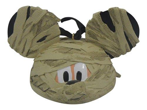 Disney Parks Mickey Mouse Mummy Ohren hat Ornament (Disneyland Mickey Halloween)