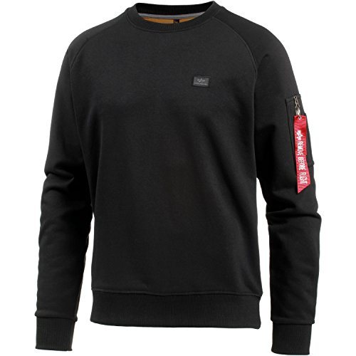 Alpha Industries Sweater X-Fit, Color:black;Größe:L