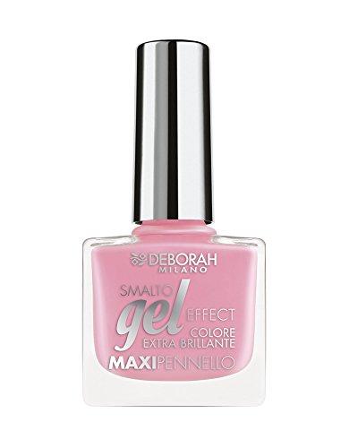 Deborah Milano Gel Effect Nail Polish, 49 Peonia Pink, 8.5ml