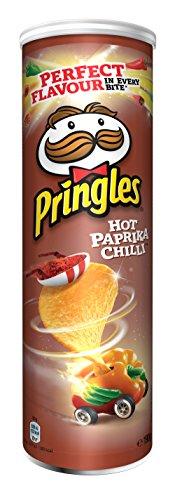 Pringles Hot Paprika Chilli, 19er Pack (19 x 190 g)