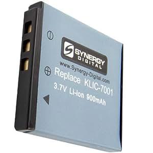 Batterie pour Appareil Photo Numérique Kodak Easyshare M1063 Lithium Ion (900 mAh 3.7v) - Batterie de Remplacement pour Kodak KLIC-7001