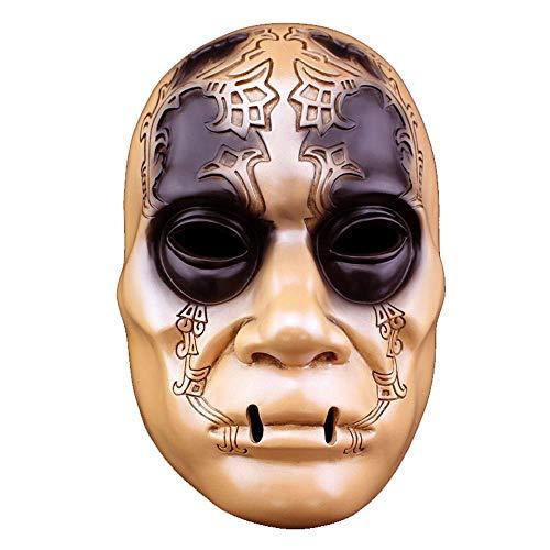 auberstab Todesser Horror Halloween Maske Sammleredition Harz Maske ()
