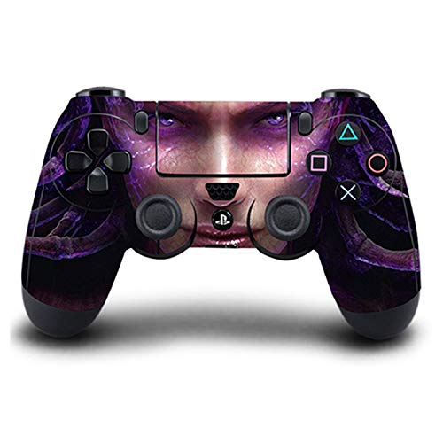 Price comparison product image WELLDRESSED PS4 Controller Skin Sex Woman PVC HD Sticker Full Cover for Sony PlayStation 4 Wireless Controller Skin PS4 Accessory, Style13