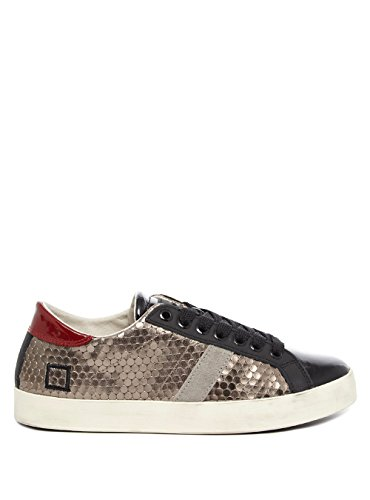 DATE HILL LOW SNEAKER PONG PIOMBO LEATHER (40)