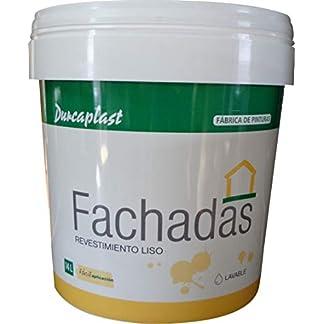 PINTURA FACHADAS COLORES Durcaplast: Revestimiento de fachadas colores mate. Extraordinaria resistencia al roce, máxima resistencia a la intemperie y al envejecimiento.