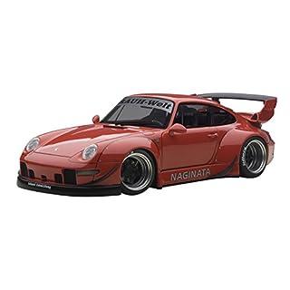AUTOart–78153–Porsche 911/993RWB–Echelle 1/18–Rot