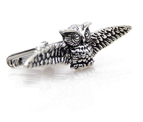 AFHT Modeling Fashion Owl Tie Clip Cute Animal Series Of High-Grade Life Lavalier -