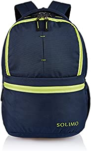 Amazon Brand - Solimo 25 Ltrs Midnight Blue Casual Backpack