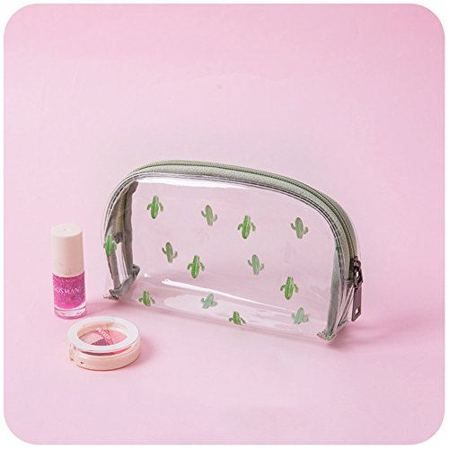 Transparente Impermeable Neceseres maquillaje Portátil