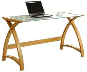 jual curve schreibtisch mit geschwungenen beinen aus. Black Bedroom Furniture Sets. Home Design Ideas