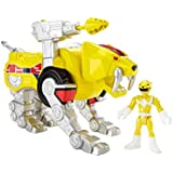 Fisher-Price Imaginext Yellow Ranger and Sabertooth Zord by Fisher-Price