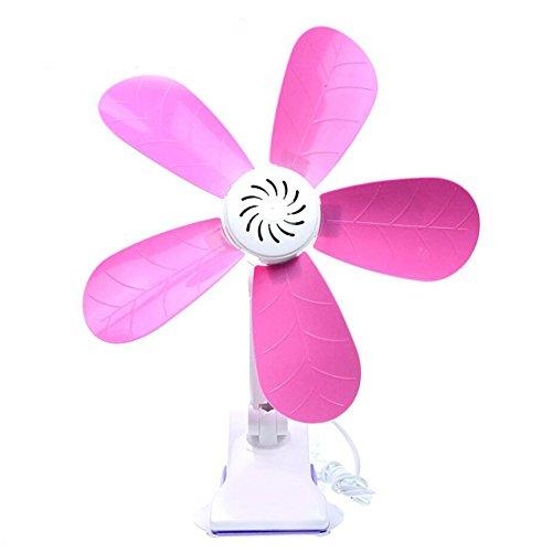Miaoge Frisch gefälschte Blume Blatt Lüftereinheiten Clip Wind 600 Umdrehungen pro Minute 599mm