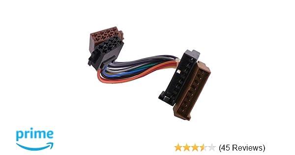 5-pol Autoradio-Adapter ISO auf DIN Ford alt Stromanschlu/ß
