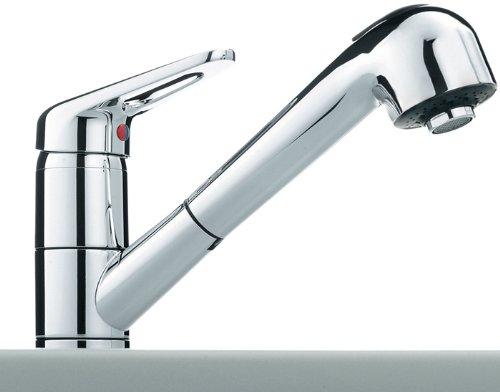 Franke 115.0029.709Finition chromée robinet de cuisine avec un pull Out bec–Gris (en)