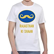 Ruffty Cricket Premier League Tees- Rajashtan Ki Shaan - Unisex Cotton T Shirt