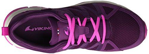 Viking - Komfort Gtx W, Scarpe sportive outdoor Donna Violett (Plum/Magenta)