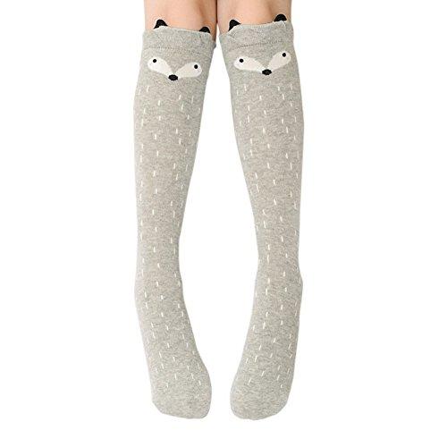 ESHOO Kleine Mädchen Kniestrümpfe Niedliche Kleinkind Mädchen Kleid Socken (Kleinkind Mädchen Kleid Socken)