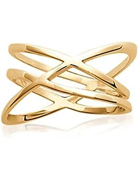 ISADY - Fantoni Gold - Damen-Ring - 18 Karat (750) Gelbgold platiert