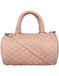 Anekaant Keg Dusty Pink PU Sling Bag
