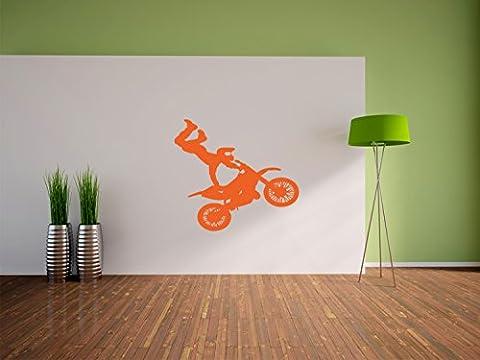 Moto Cross taille Biker Stickers muraux: 600x540 murale mm_d, stickers muraux, stickers muraux de décoration pour le salon, chambre à coucher et la chambre des enfants