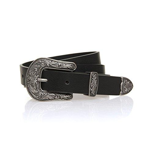Rip Curl Belts - Rip Curl Arrow Belt - Black (Western Belt Womens Buckle)