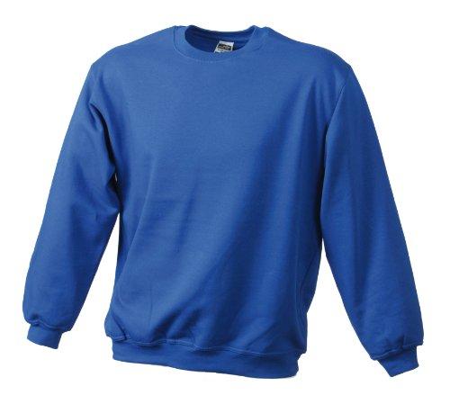 James & Nicholson Herren Sweatshirt Blau (Royal)