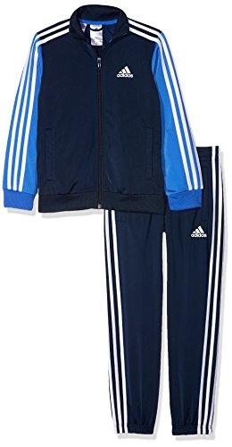 adidas Herren Trainingsanzug Tibero TS CH, Kinder, Kinder, Tibero TS CH, Blau (maruni/azalre/Weiß)