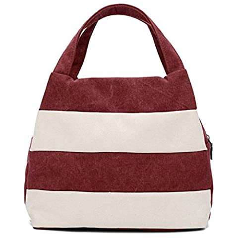 Sucastle Freizeit-Paket Retro-Paket diagonal Paket Handtasche Schultertasche Segeltuchtasche Sucastle Farbe:Kaffee