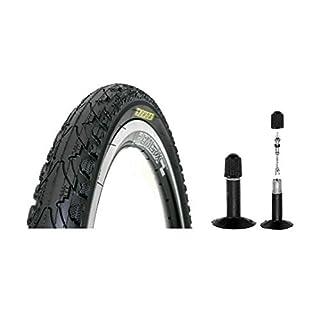SET 2x28 Zoll Reifen Pannensicher K-Shild Kenda 37-622 (28x1 3/8x1 5/8) mit 2x Schlauch Autoventil