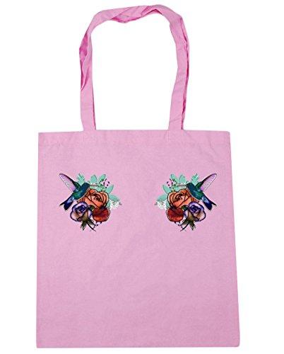 hippowarehouse-sac-de-plage-femme-rose-