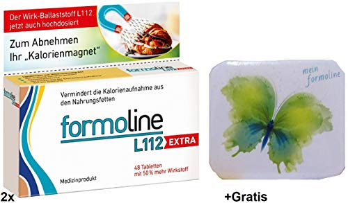 "2x 48Tab. Formoline L112 Extra +Gratis Pillendose. Ihr\""Kalorienmagnet\"""