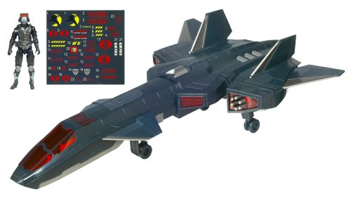 Hasbro G.I. Joe 3.75 Echo Vehículo con Figura Noche Raven con Air Viper v1