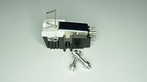 bewegender Magnet -Tonabnehmer mit Diamant Nadel passend für Denon DP 500m,DP 300F SP, DP 60L, DP A100,DP 1300 MK2, DP 1100, DP 1200 Plattenspieler Tonarme