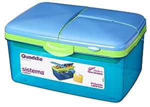Sistema Boîte-repas avec gourde pour enfant Violet Grand format