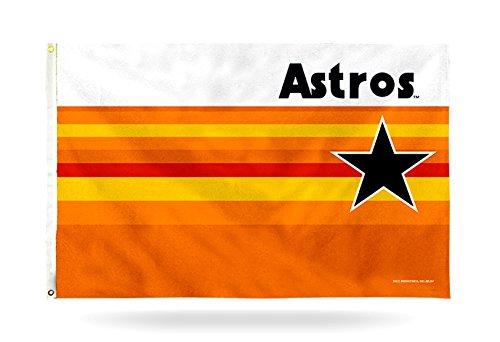 Rico Houston Astros Retro Design 3x 5Tüllen Flagge Outdoor House Banner Baseball - Heavy-duty-outdoor-banner