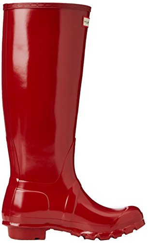 Hunterbota Original Tall Gloss - Bottes Pour Femmes Rouges (rouge Militaire)